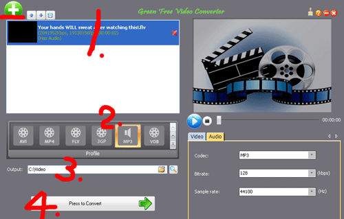 integrated video/auido converter